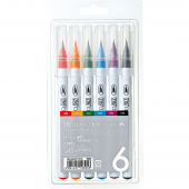 K AC Clean Color Real Brush 6 sada