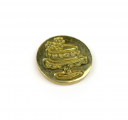 M Sealing Coin (17 mm) - Celebration Cake