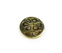 M Sealing Coin (17 mm) - Flower