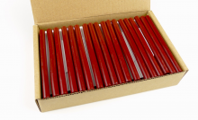 M Sealing Gun Wax - Red (1 ks)