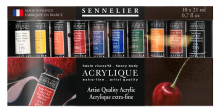 S Artist Quality Acrylic Set 10x21ml