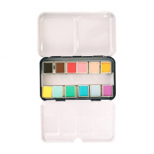 GALLERY PROFESSIONAL WATER COLOR HALF PAN 12 paste