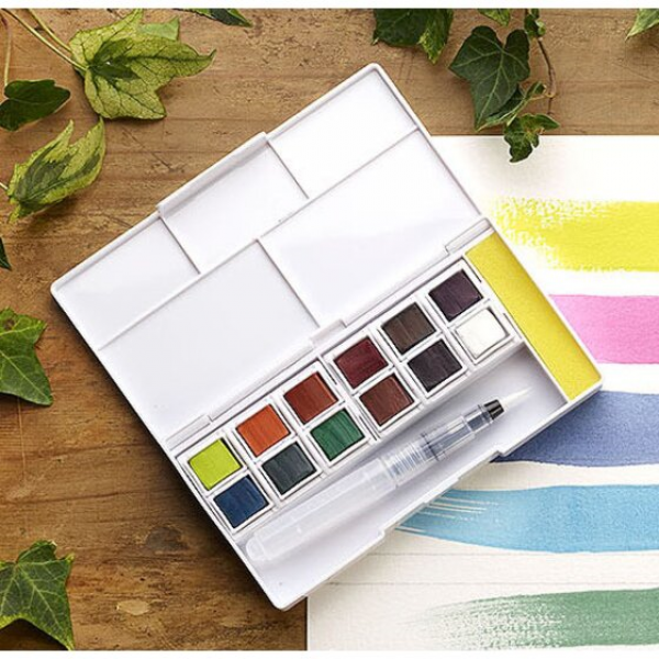 D INKTENSE PAINT PAN SET ( 12 )